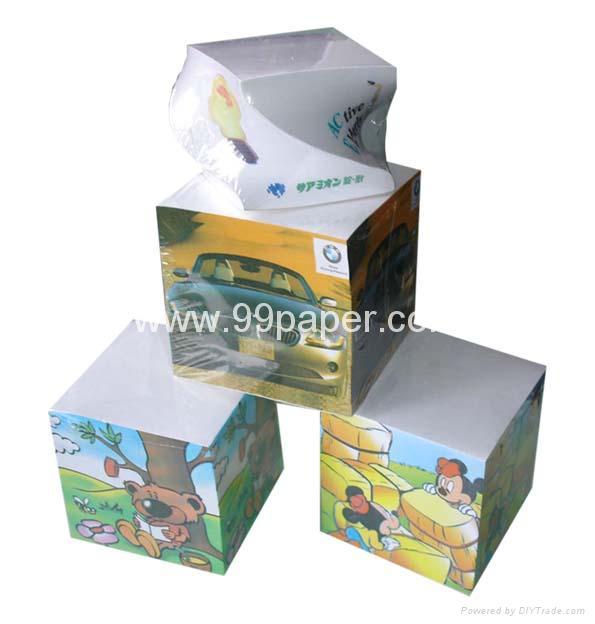 Note cubes/paper block/memo  cube/paper block 1