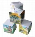 Note cubes/paper block/memo  cube/paper