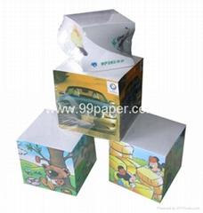Note cubes/paper block/memo  cube/paper block