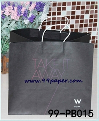 Deluxe paper shopping bags