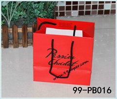 Deluxe gift bag with high quality printing