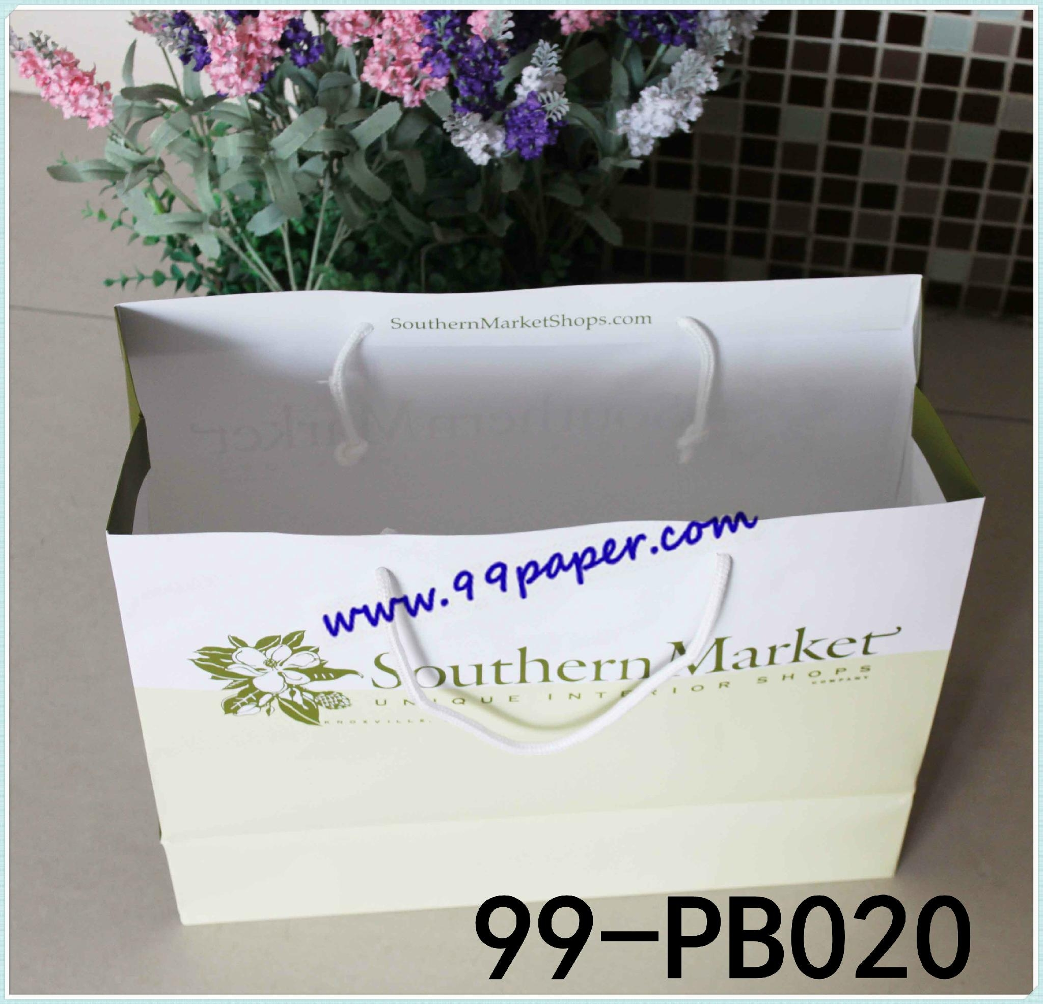 High quality paper shopping carrier 1