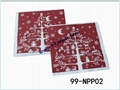 Napkin paper with your printing design 4