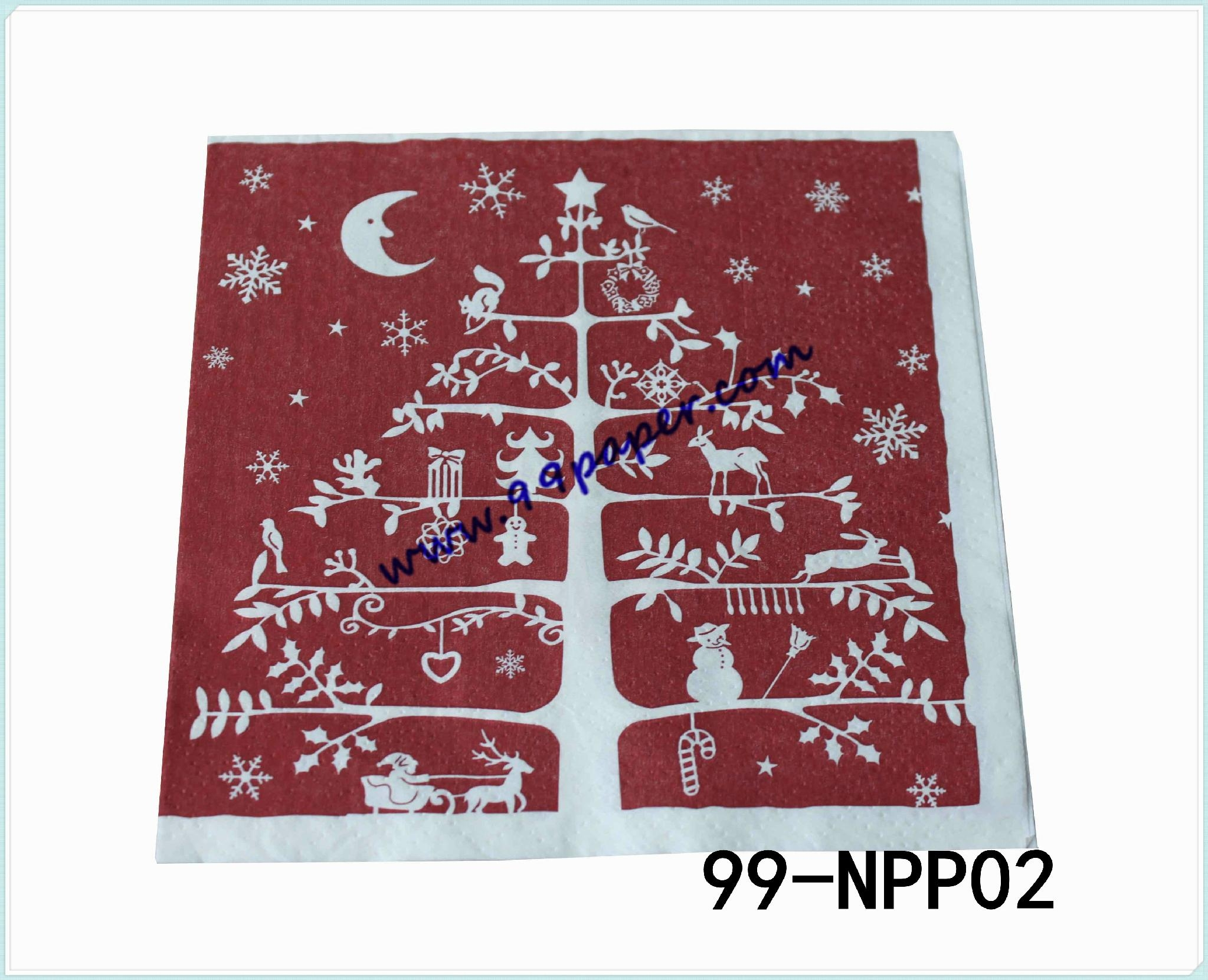 Napkin paper with your printing design 2