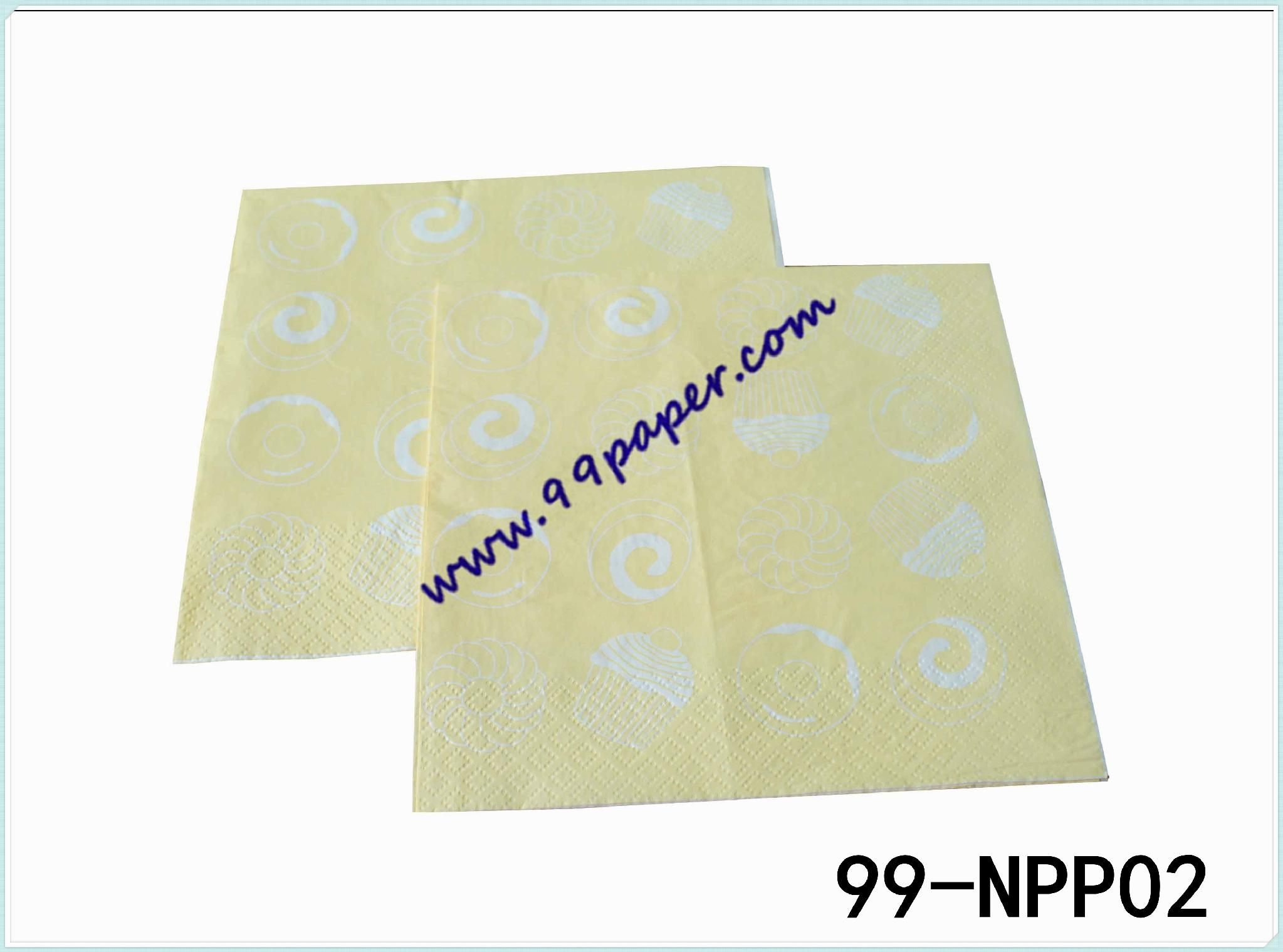Napkin with your LOGO printing 5