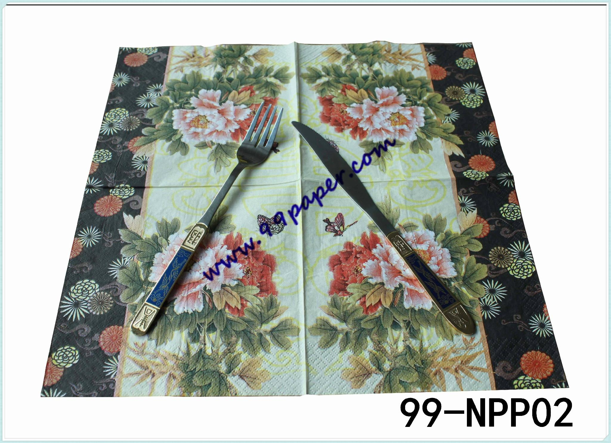 Napkin with your LOGO printing 2