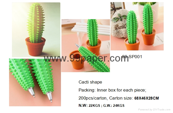 Cacti Shape Ball Pen