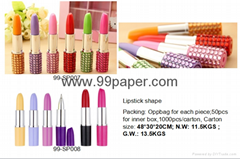 Hot sales Lipstick Shape Ball Pen