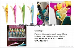 Clip Shape Ball Pen