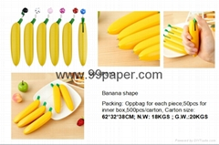 Banana Shape Ball Point Pen