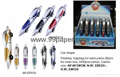 New car shape ball point pen