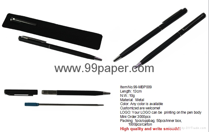 Metal ball pen for promotion gift 4