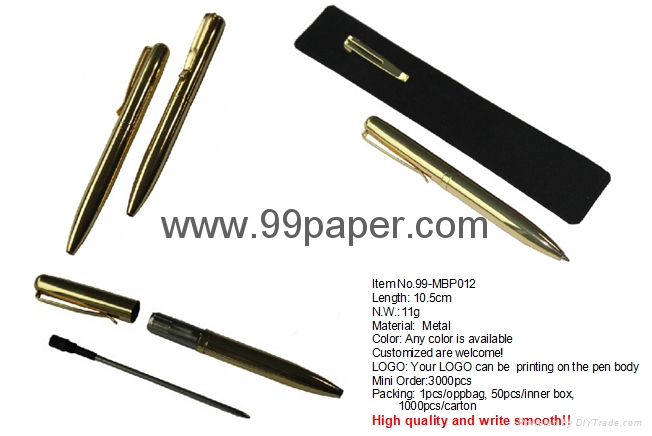 Metal ball pen for promotion gift 1