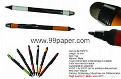 Fashion design touch ball pen