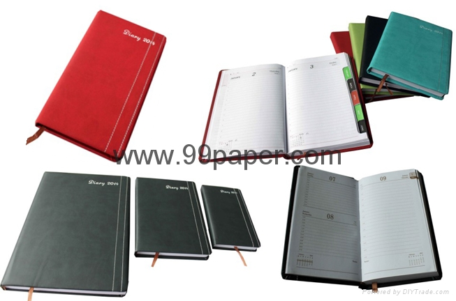 Cheap diary with PU cover 3