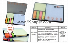 New design notepad with