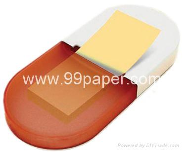 Pill shape pop up post it 1