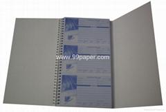 Sticky message book