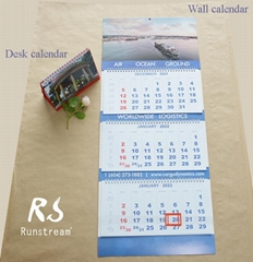 99WC-001 Wall calendar&Desk calendar  (Hot Product - 1*)