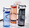 New sports water bottles with handle, environmentally friendly bio-based plastic