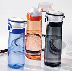 New sports water bottles with handle,