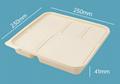 Disposable corn starch tableware