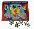 2D jigsaw animals puzzle/ number puzzle