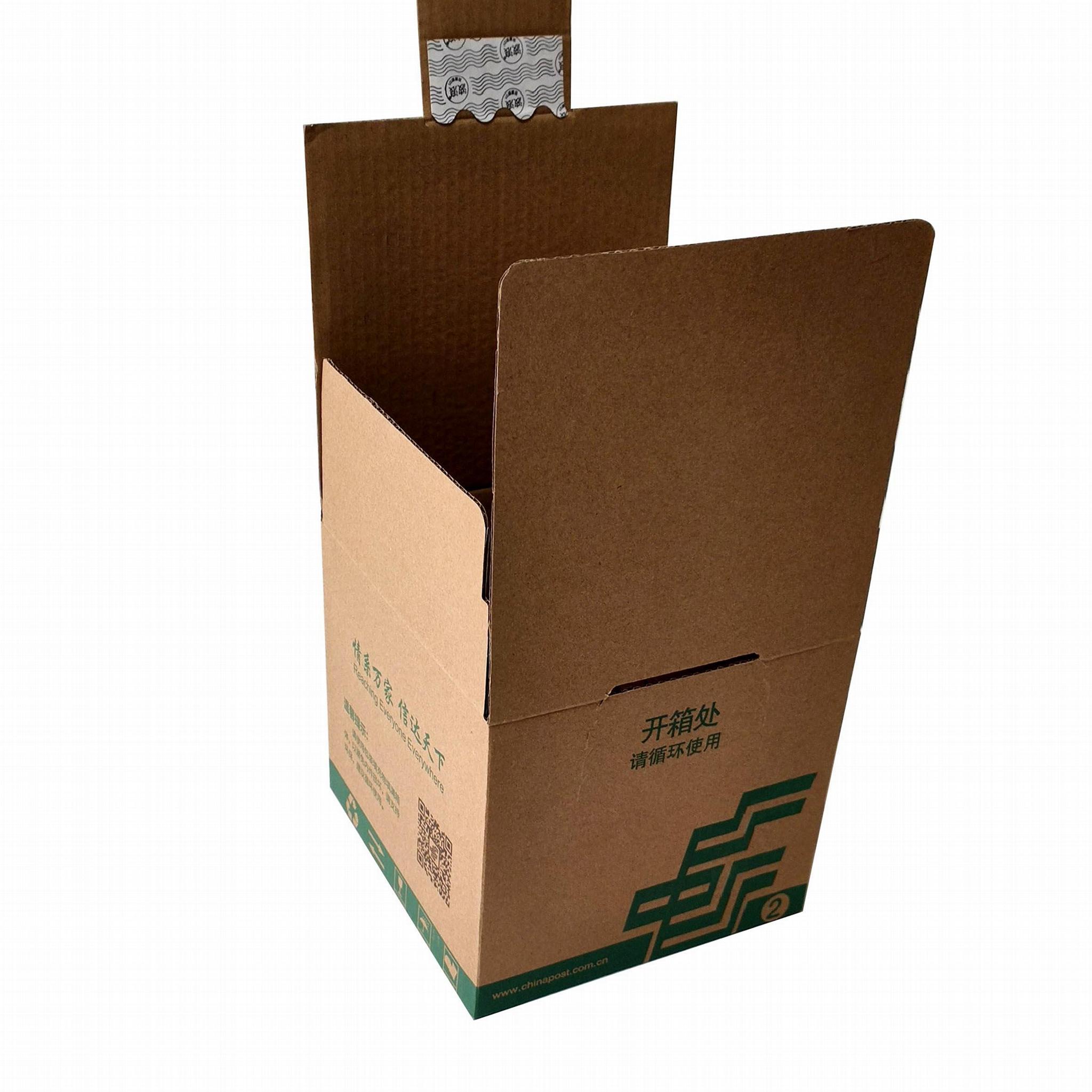 Mailbox with adhesive