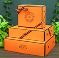High quality fruit gift box