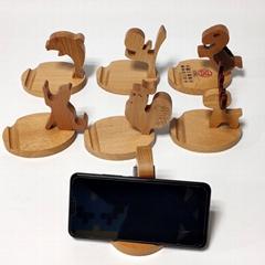 Wooden mobile holder, can print logo, 99-MB-2131