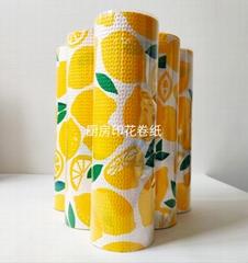 3 layers soft kitchen paper