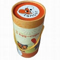 Paper tube box, with handle