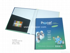 99-B20/Note pad with PU cover and pen