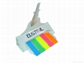99-B14P/Film sticky notes with die cut cover