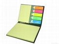 99-BP16/sticky notes with hard cover