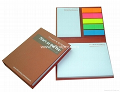 99-BP15/sticky notes with hard cover