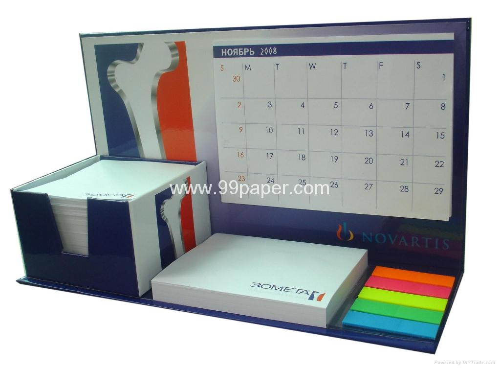 99-BC006/Combined note pad with calendar