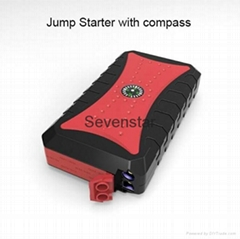 10000mah Mini Multi-functional Portable Car Jump Starter with compass