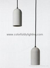 2015 european hot sale vintage concrete light