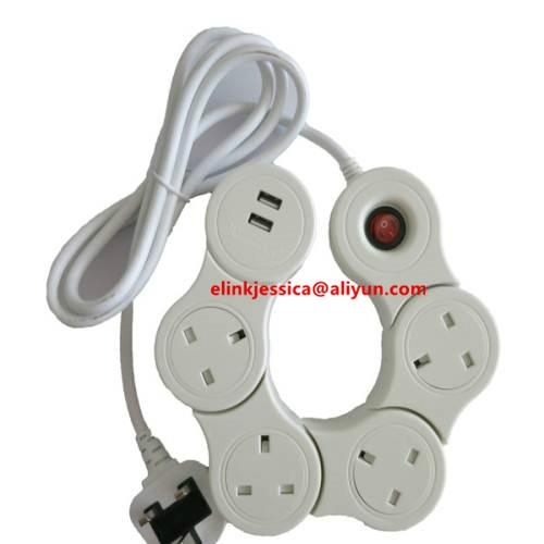 UK BS CE VDE POWER CORD and EXTENSION LEAD 3