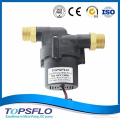 Excellent 12V DC Solar Water Heater Circulation Pump