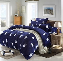 100% Polyester Printed  Bedding Set (BD10600138)