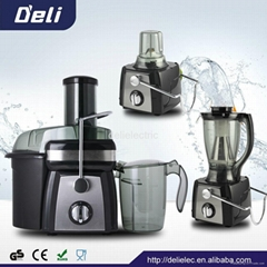 3 in 1 food processing blender juicer mixer