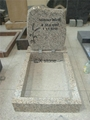 Germany style granite headstone for grave cemetery 1