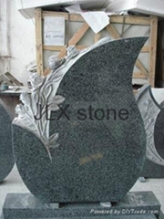 Special design monument black granite headstone for grave