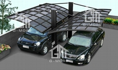 2015 New Outdoor Solution Free shipping High Grade DIY Aluminum Garage  Hot Sal
