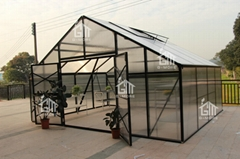 2015 New Free Shipping 5M Width Hobby Greenhouse