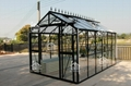 2015 New Free shipping Glass Greenhouse
