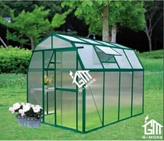 Free shipping Barn Style Single DoorHobby Greenhouse