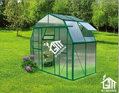 2015 New Free shipping Barn Style Double Door Hobby Greenhouse-10 Years Warranty